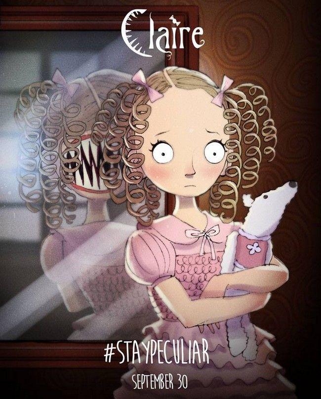 Miss Peregrine de Tim Burton par Andrew Tarusov : Claire