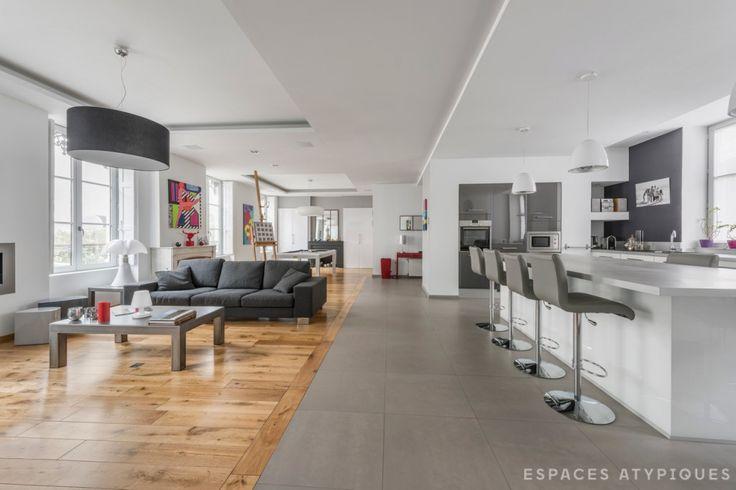 Espaces Atypiques Lyon : loft terrasse maison d\'architecte vente ...