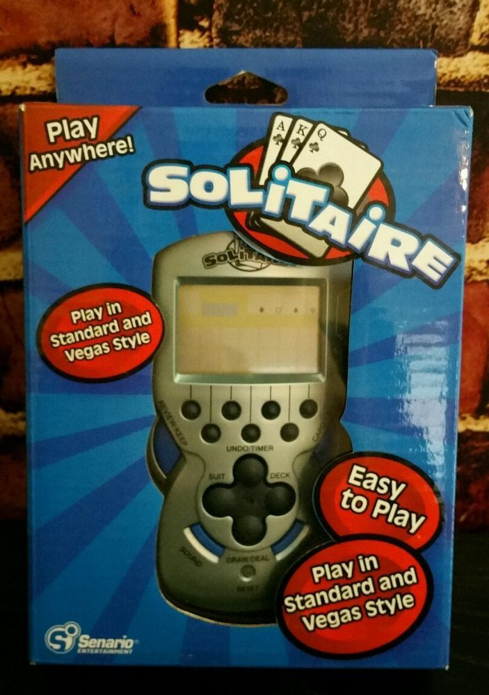 SENARIO HANDHELD VIDEO SOLITAIRE GAME 2007 NEW | Toys & Hobbies, Games, Electronic Games | eBay!