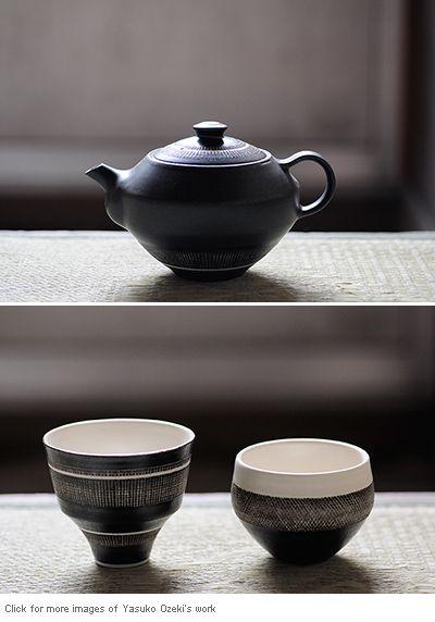 Analogue Life | Japanese Design & Artisan made Housewares » Blog Archive » Pottery by Yasuko Ozeki