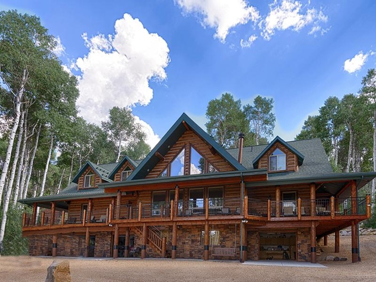 116 best aspen red mountain lots for sale images on for Log cabins in utah