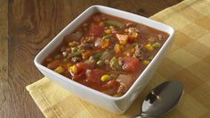 This American Heart Association, Simple Cooking with Heart, kid-friendly Burger Soup recipe is a great way to get kids into the kitchen to help out.