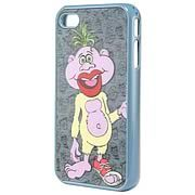 Jeff Dunham Peanut iPhone 4 Case - http://lopso.com/interests/ipad/jeff-dunham-peanut-iphone-4-case/ -   Keep your treasured iPhone safe from scratches and look good doing it with this Jeff Dunham Peanut iPhone 4 Case! Made from plastic, the Peanut iPhone 4 Case features the purple woozle from Micronesia, green tussle of hair and all, right on the back of the skin with a cool pattern unique to...