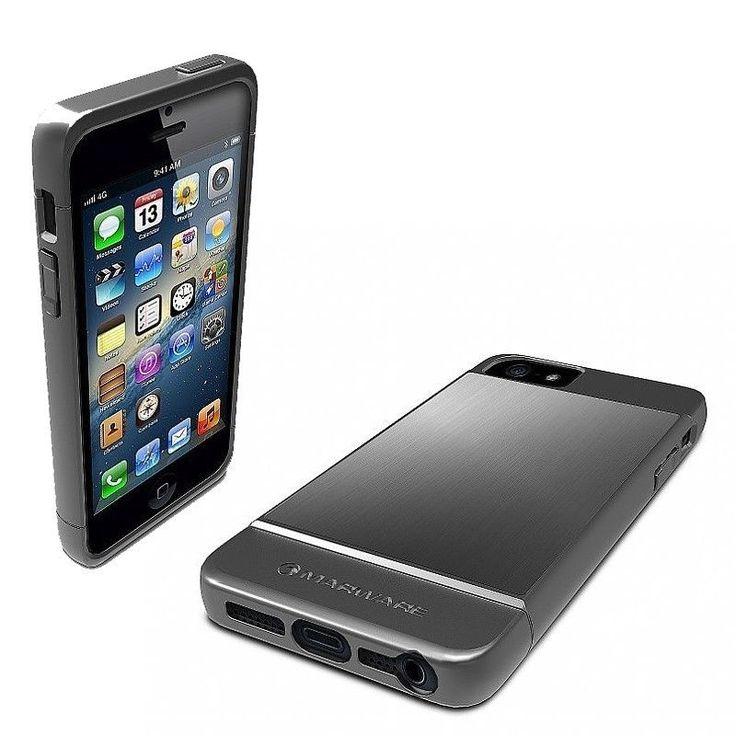 Marware Case rEVOLUTION Metal Jacket + Screen Protector (iPhone 5/5s) - myThiki.gr - Θήκες Κινητών-Αξεσουάρ για Smartphones και Tablets - Marware Case rEVOLUTION Metal Jacket + Screen Protector