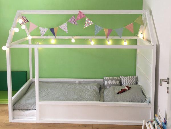 Ikea Kura Hack: Ein Kinderbett mit Dach zum selber bauen – #bauen #Dach #ein #HA…