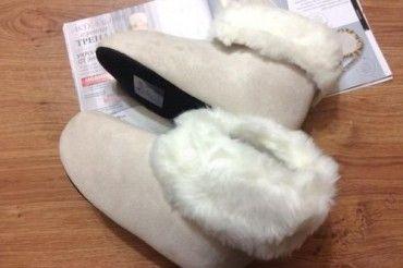 Тапочки «Снежная сказка»