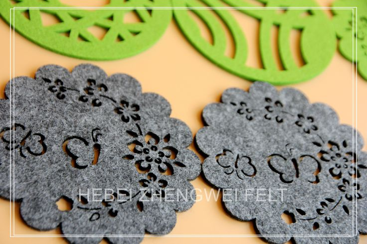 $0.5 to $2 Nice Felt Coasters in Latest Fashion Designs with Eco-Friendly Material