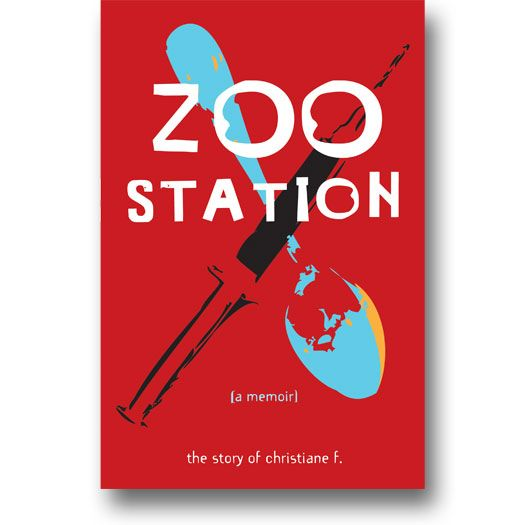 Zoo Station (A Memoir): The Story of Christiane F. ISBN 978-1-936976-22-5.  This incredible autobiography of Christiane F. provides a vivid portrait of teen friendship, drug abuse, and alienation in and around Berlin's notorious Zoo Station. Christiane's rapid descent into heroin abuse and prostitution is shocking, but the boredom, longing for acceptance, thrilling risks, and musical obsessions that fill the rest of Christiane's existence are familiar to everyone.   #memoir #addiction #drug