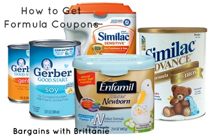 How To Get Baby Formula Coupons