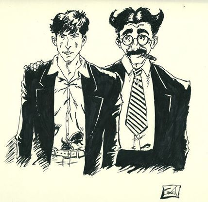 Dylan Dog & Groucho