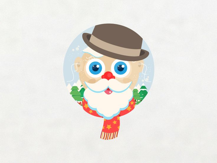 Santa Claus - Happy Holidays by Shab Majeed