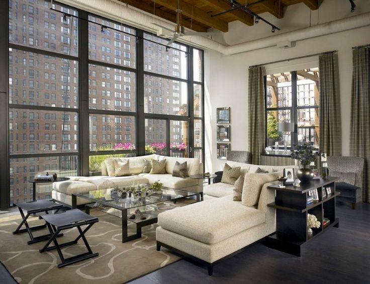 Sexy urban loft with Chicago skyline views, by jamesthomas.