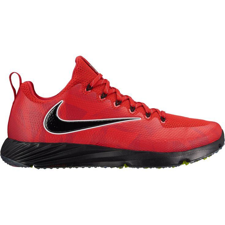 Ohio State Buckeyes Nike Vapor Speed Turf Football Shoes - Red/Black