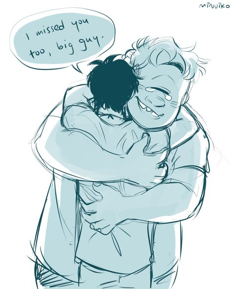 Tyson and Percy by minuiko.tumblr.com I honestly got tears in my eyes