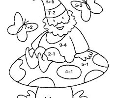 1000 images about coloriages magiques on pinterest coins sons and color by numbers - Coloriage magique noel ce1 ...