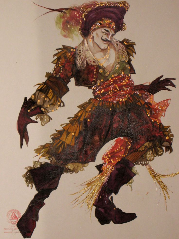 Gregg Barnes is one of the greatest costume designers and illustrators. Check-out incredible images of his work. PETER PAN