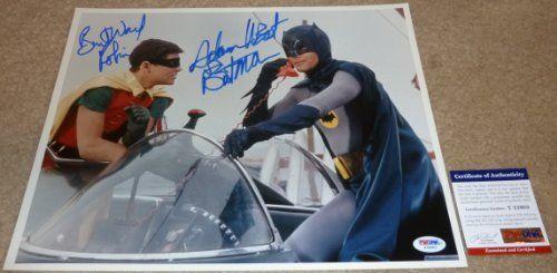 PSA/DNA Batman Adam West & Robin Burt Ward Autographed-Signed 11x14 Photo @ niftywarehouse.com #NiftyWarehouse #Batman #DC #Comics #ComicBooks