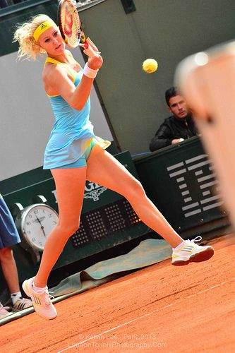 Kristina Mladenovic (France) - French Open 2013 | Flickr - Photo Sharing!