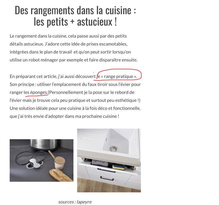 733 best Cuisine images on Pinterest Ali, Applique and Blue home - pose d un plan de travail cuisine
