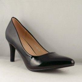 Acest model elgant de pantofi poate fi ideal si pentru tinutele business ce impun clasa si eleganta. Un model de pantofiunicat, plin de eleganta si stil.Pantofi de lacintr-o nuanta calda de bej, potriviti pentru evenimentele deosebite din viata dumneavoastra si nu numai. Culoare : Negru Comanda acum online! Transportul este gratuit pentru comenzi ce depasesc 199 Ron!