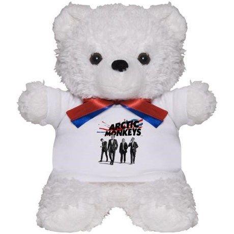 Arctic Monkeys Teddy Bear on CafePress.com