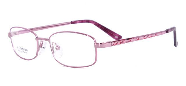Titanium Flexible Eyeglass Frames Women Eyewear Prescription Glasses Myopia & Reading