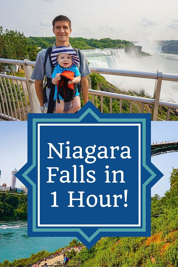 Want to visit Niagara Falls, NY but don't have much time? It's still worth it, even with a baby or kids! Check out these travel tips.