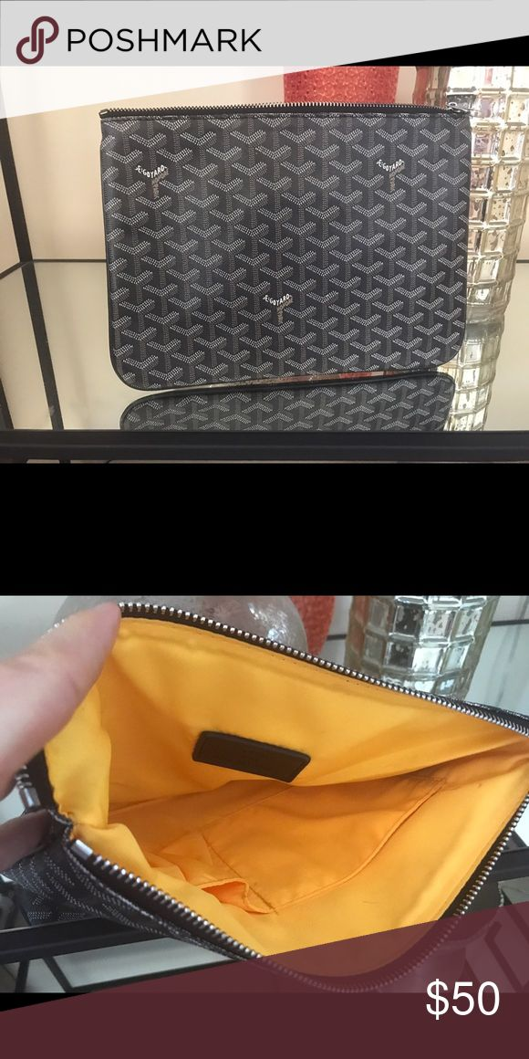 Goyard small pouch New.  Excellent condition Bags Clutches & Wristlets
