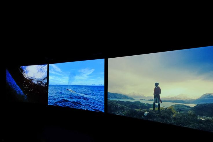 © John Akomfrah, Vertigo Sea, 2015, (video still image).  Courtesy of Another Africa / Clelia Coussonnet.