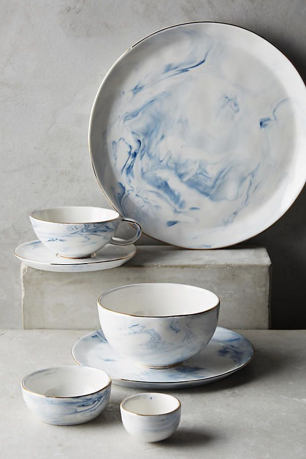Marbled Dinnerware