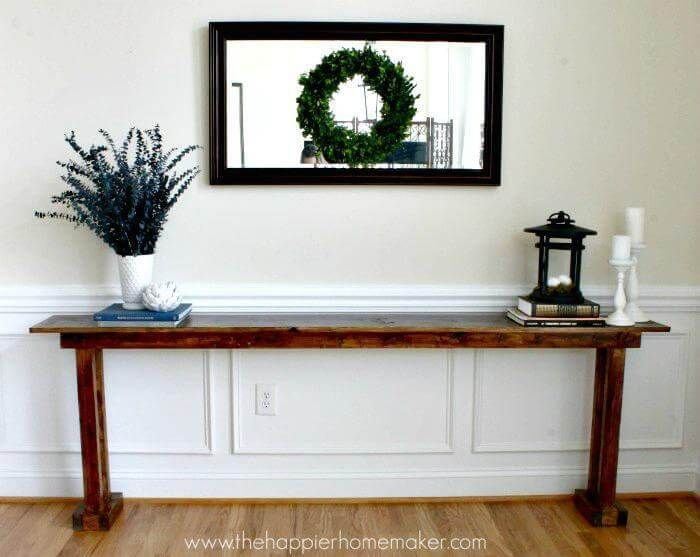 25 Best Diy Entryway Table Ideas With