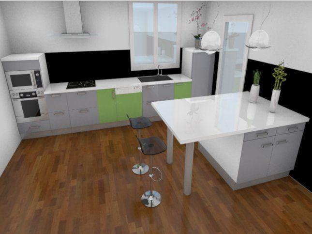 Conception 3D d'une cuisine avec My Sketcher
