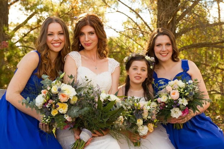 #bridal party #hair #makeup by Cassandra Lee