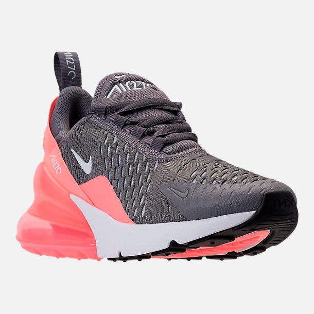 Nike Kids Grade School 270 Casual Shoes Nike Shoes Girls Kids Nike Shoes Girls Cute Nike Shoes