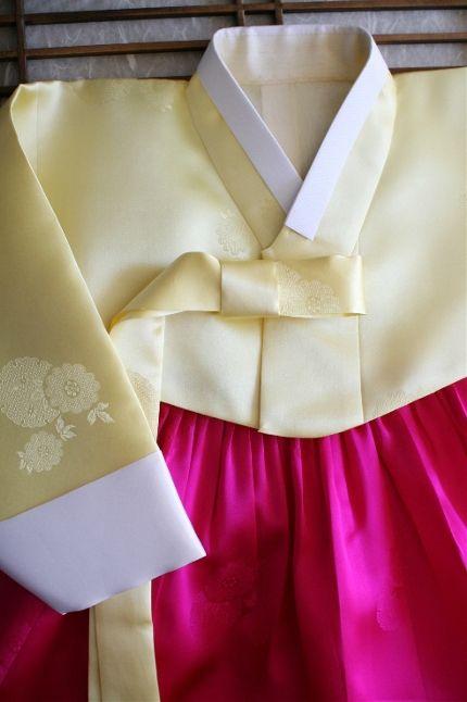 돌잔치한복_노랑저고리에 핑크치마 : 네이버 블로그