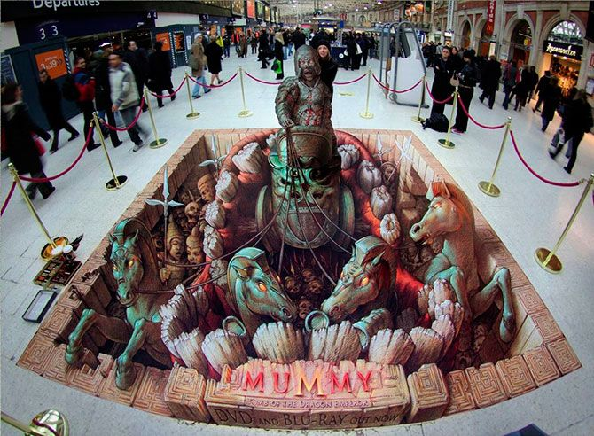 3D-Images by Kurt Wenner – Art ~ Beauty is in the Eye of the Beholder