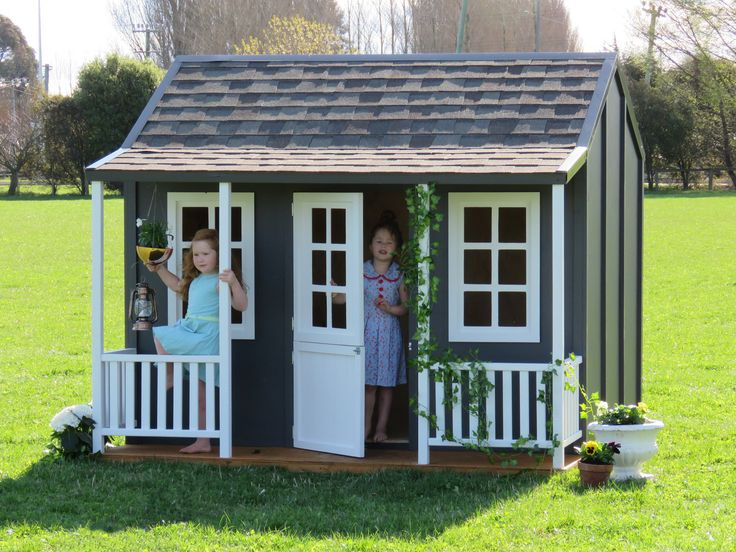The Chalet Cubby House With Tiled Roof