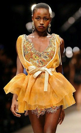 A model wears a design from the Vivienne Westwood spring/summer 2011 collection at Paris Fashion Week - Fashion Galleries - Telegraph