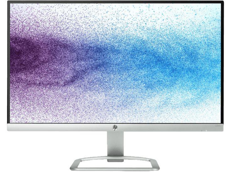 HP 22ES 21.5 Zoll  Monitor (1x VGA, 1x HDMI-Anschluss (mit HDCP-Unterstützung) Kanäle, 7 ms (Grau zu Grau) Reaktionszeit)