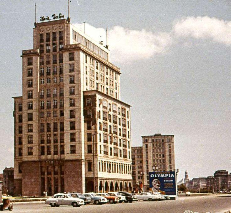 Hotel Haus Berlin, Karl-Marx-Allee 1962