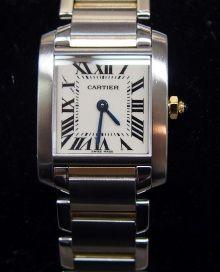カルティエの時計と言えばタンクフランセーズ!完成されたデザインと不動の人気はさすがです。 | 質屋・ブランド通販・販売・宝石鑑定・買取 大阪天神橋六丁目ロンド | 大阪の地域ブログポータルサイト|まちブログ大阪