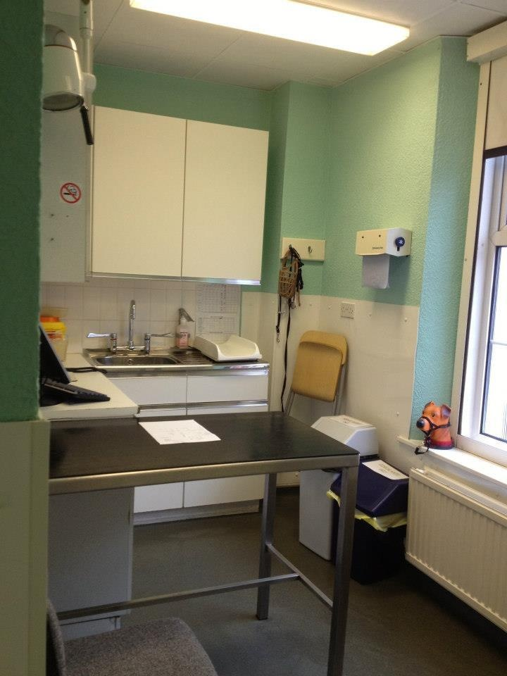 Wellpets Clevedon Vets Consulting Room