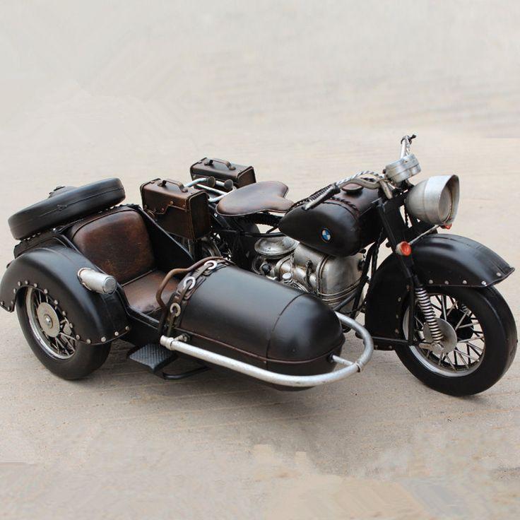 Estilo retro 1938 R71 Sidecar de la segunda guerra mundial motos coche modelo miniatura hechos a mano casa de juguete de Metal decoración oficina decoración regalo de Craftismo en Etsy https://www.etsy.com/es/listing/462826372/estilo-retro-1938-r71-sidecar-de-la