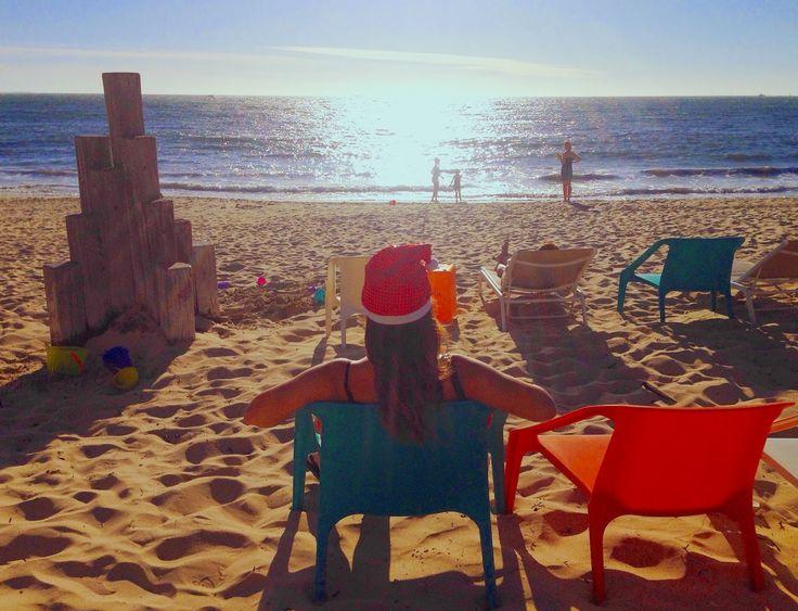 Prove generali di Natale in spiaggia in #Australia!