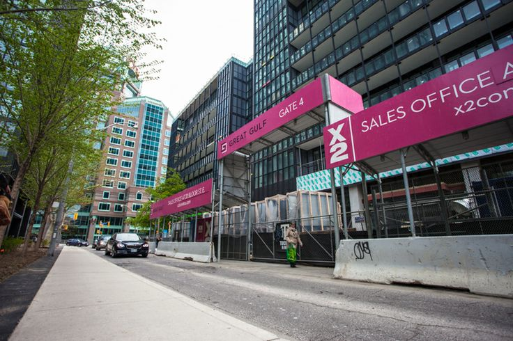 X2 Construction Tour (May 2014) -- on Charles Street looking west.