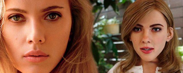 Mujer robot el clon de Scarlett Johansson