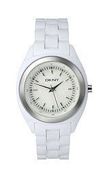 DKNY Crystal Collection Plastic Bracelet White Dial Women's watch #NY4925 DKNY. Save 5 Off!. $89.99