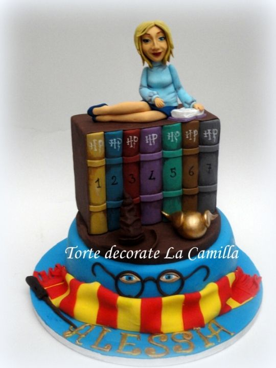 Camilla Desimini #cakedesign #harrypotter #cakebook