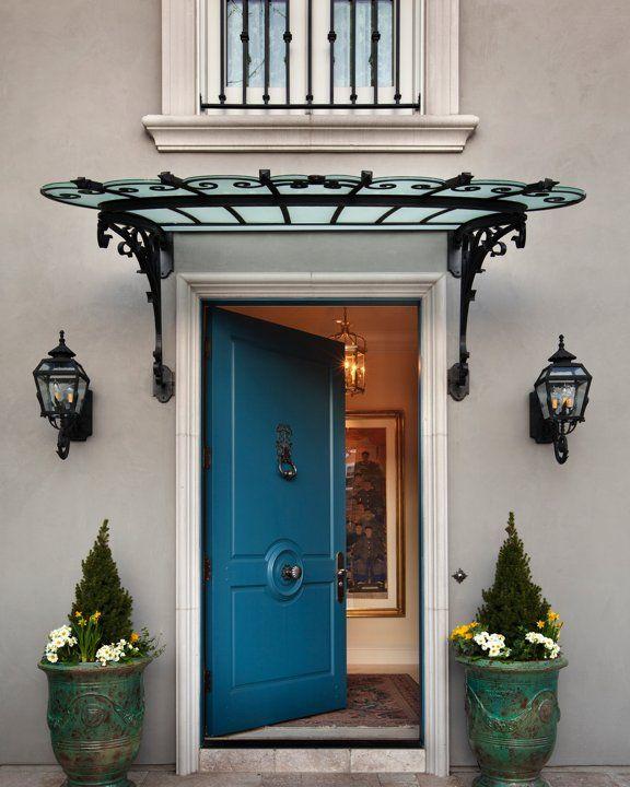 Parisian Styled Front Door in Denver