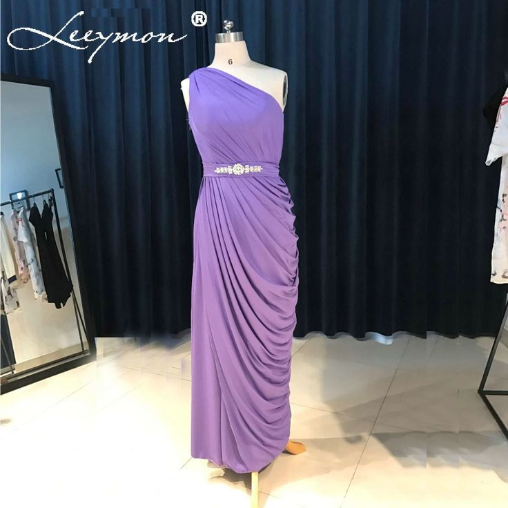==> [Free Shipping] Buy Best Real New Purple Long Pleated Chiffon Bridesmaid Dresses 2017 Sleeveless with Sashes Bridesmaid Dresses Formal Lady Dresses Online with LOWEST Price   32812460063
